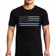 Thin Blue Line Short Sleeve Shirt