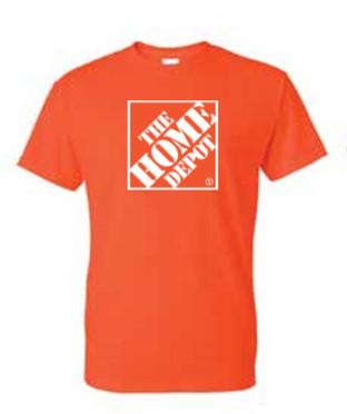 Home Depot Short Sleeve Shirt