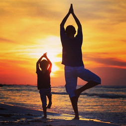 Father's Day Yoga on the Beach