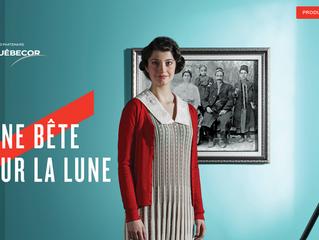 """Recent """"Beast On The Moon"""" Production Announcement on the Théâtre de la Bordée Website"""