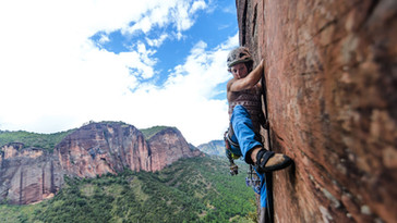 First time crack climbing!