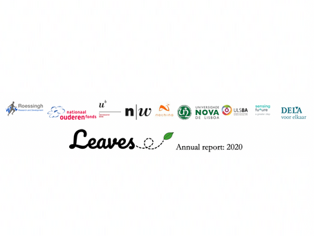🇬🇧 LEAVES annual report: 2020