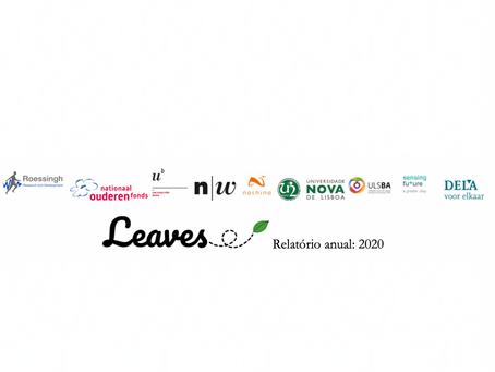 🇵🇹 LEAVES Relatório anual: 2020