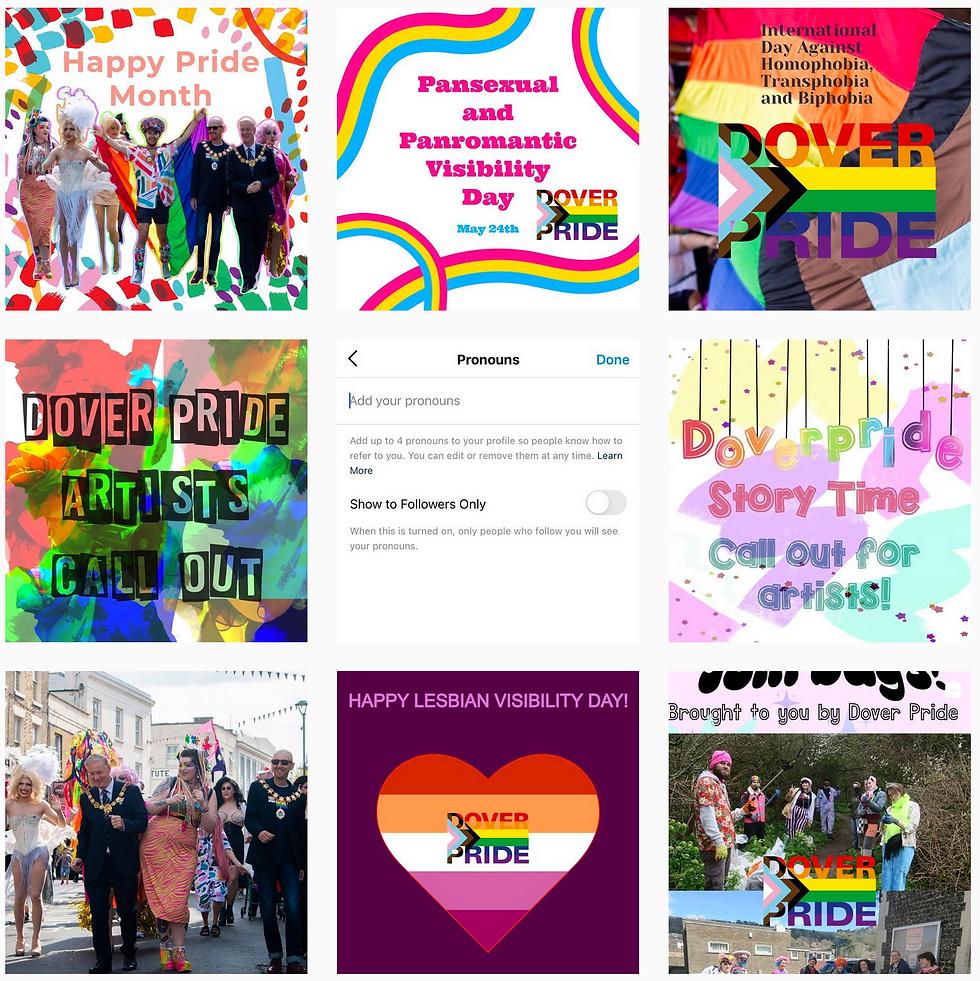 Instagram Dover Pride
