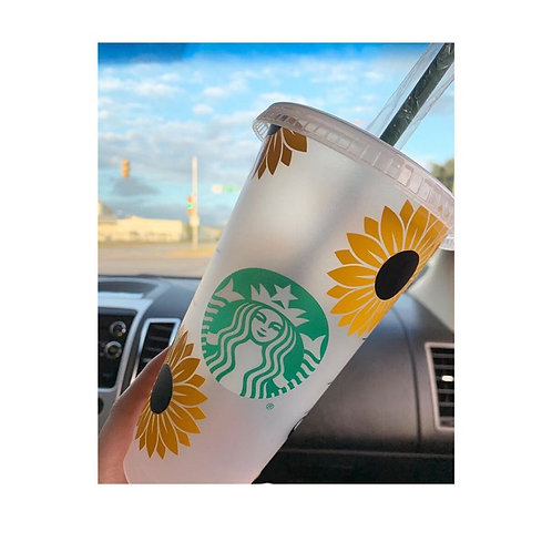Sunflower Cold Cup