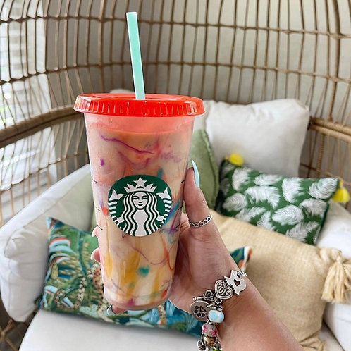 Marble Color Changing Starbuck Cup
