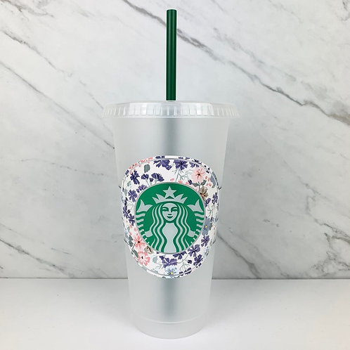 Floral Cold Cup