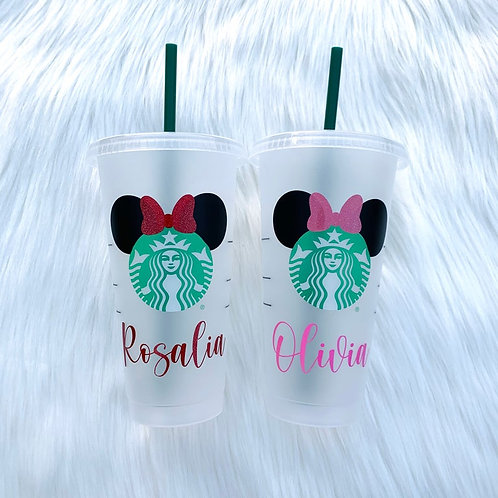 Minnie Ears Cold Cup