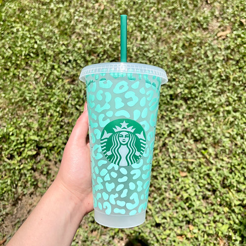 Full Cheetah Cold Cup