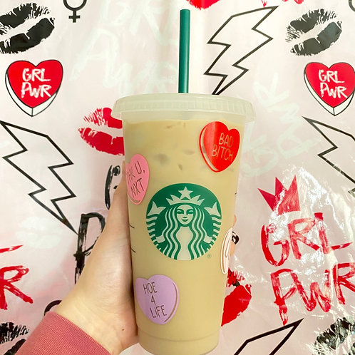 Anti Valentines Day Cold Cup