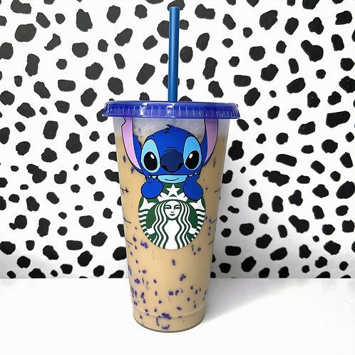 Stitch Confetti Cup