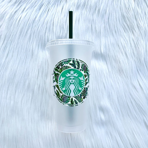 Green Tropical Cold Cup