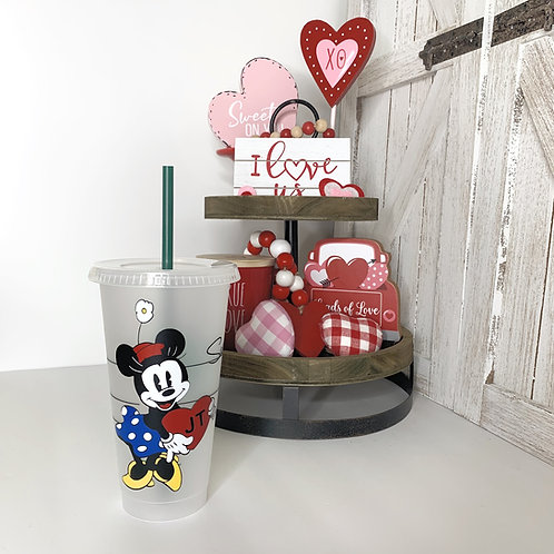 Valentines Minnie Cold Cup