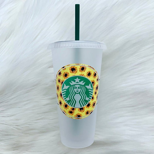 Sunflowers Cold Cup