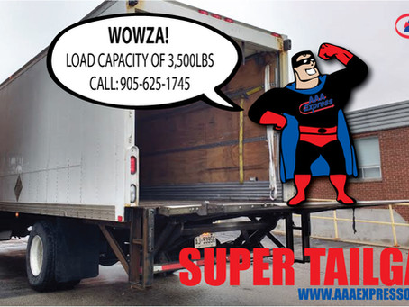 """Addition of a """"SuperTailgate"""" to the AAA Express Courier Fleet"""
