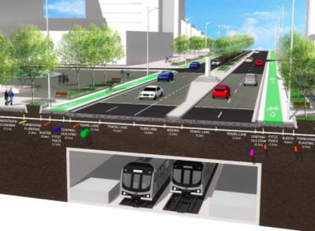 Alternate Yonge Street redesign