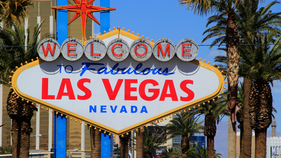 The Famous Welcome To Las Vegas Sign