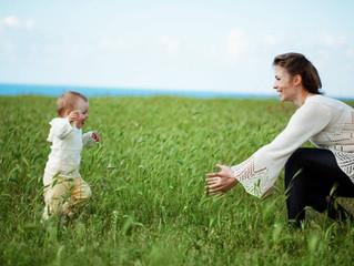 O bebê e a caminhada