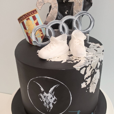 Personalised themed cake