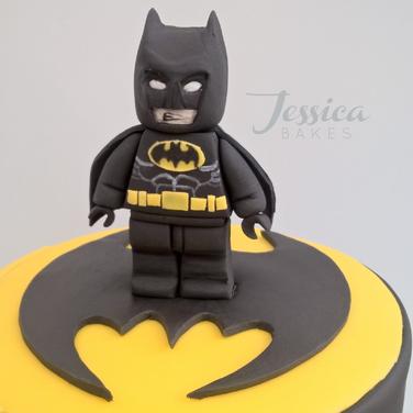 Lego Batman themed cake