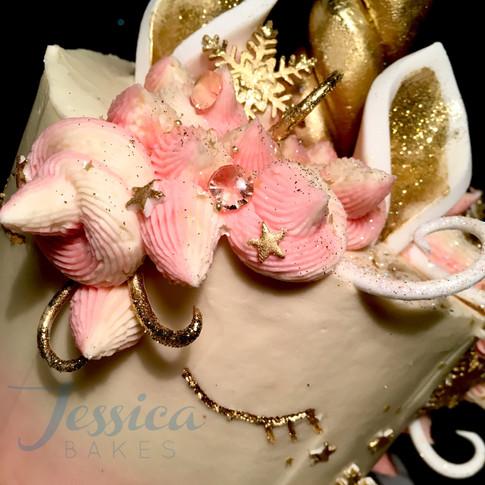 Buttercream unicorn cakes