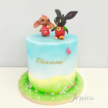 Bing themed cake