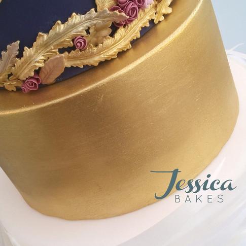 Swan Lake Wedding cake