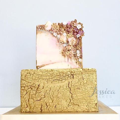 Magical Summer Garden Cake.
