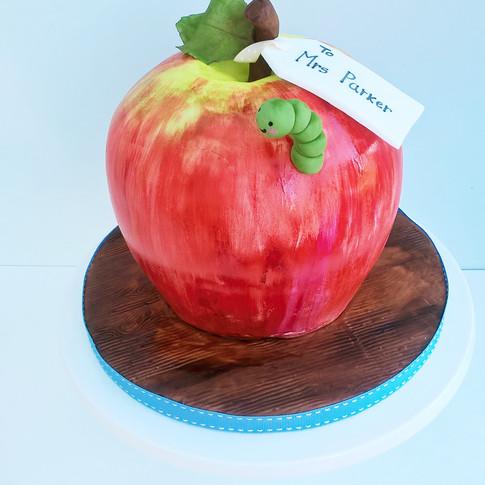Thank you teacher cake