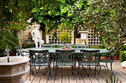 Brass table & Chairs rafael-bastos-5635