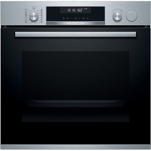 HRS578BS6B   Bosch Series 6 Pyrolytic Oven with Added Steam