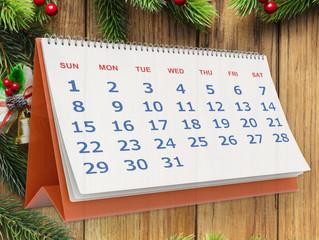 Внимание! Даты новогодних каникул