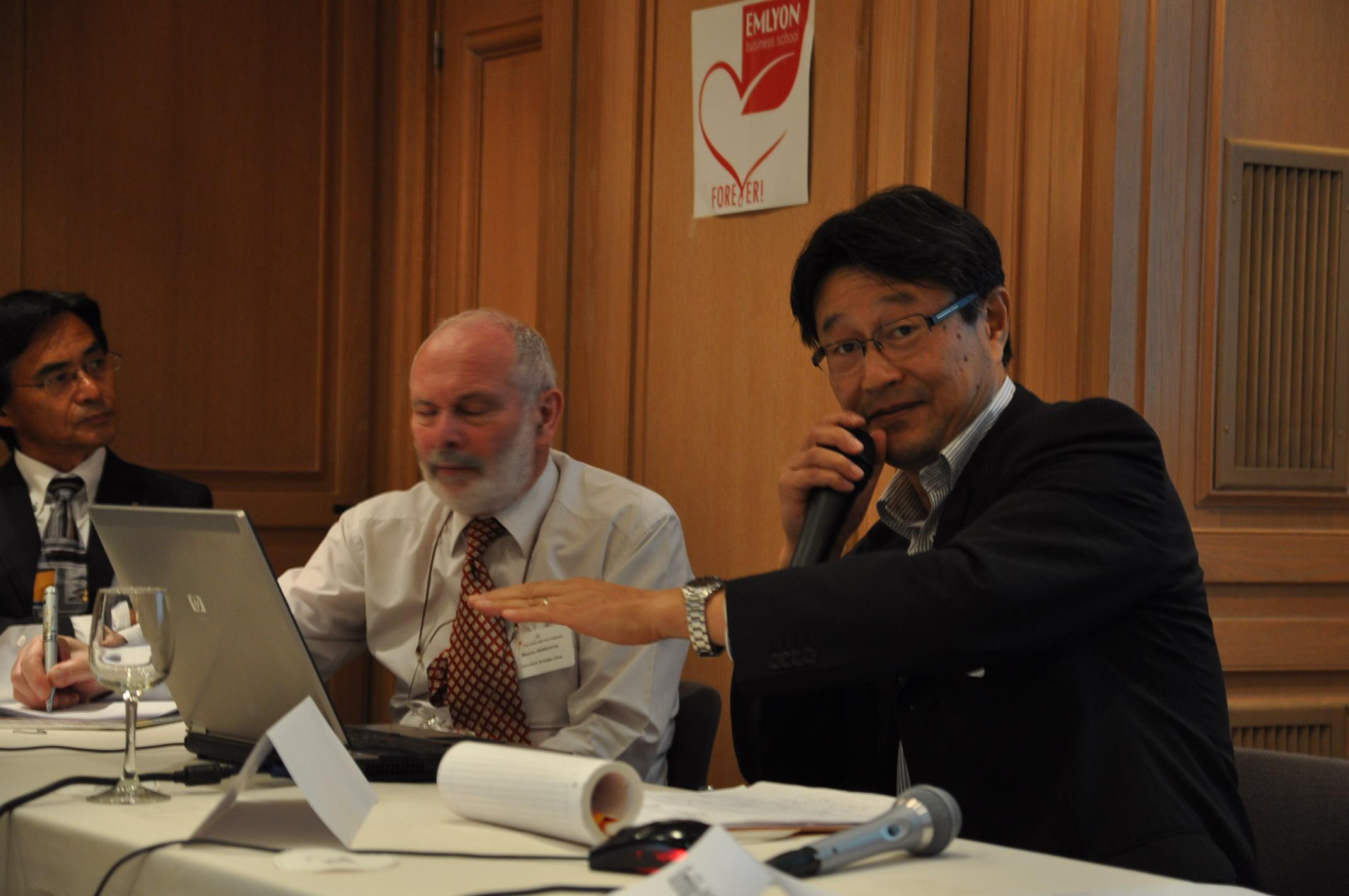 EM Lyon Club Chine Seminar « Chine-Japon, les ressorts culturels de la réussite», ParispA
