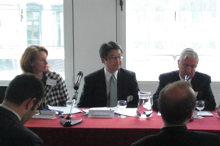 Seminar at EIAS (European Institute for Asian Studies), Brussels