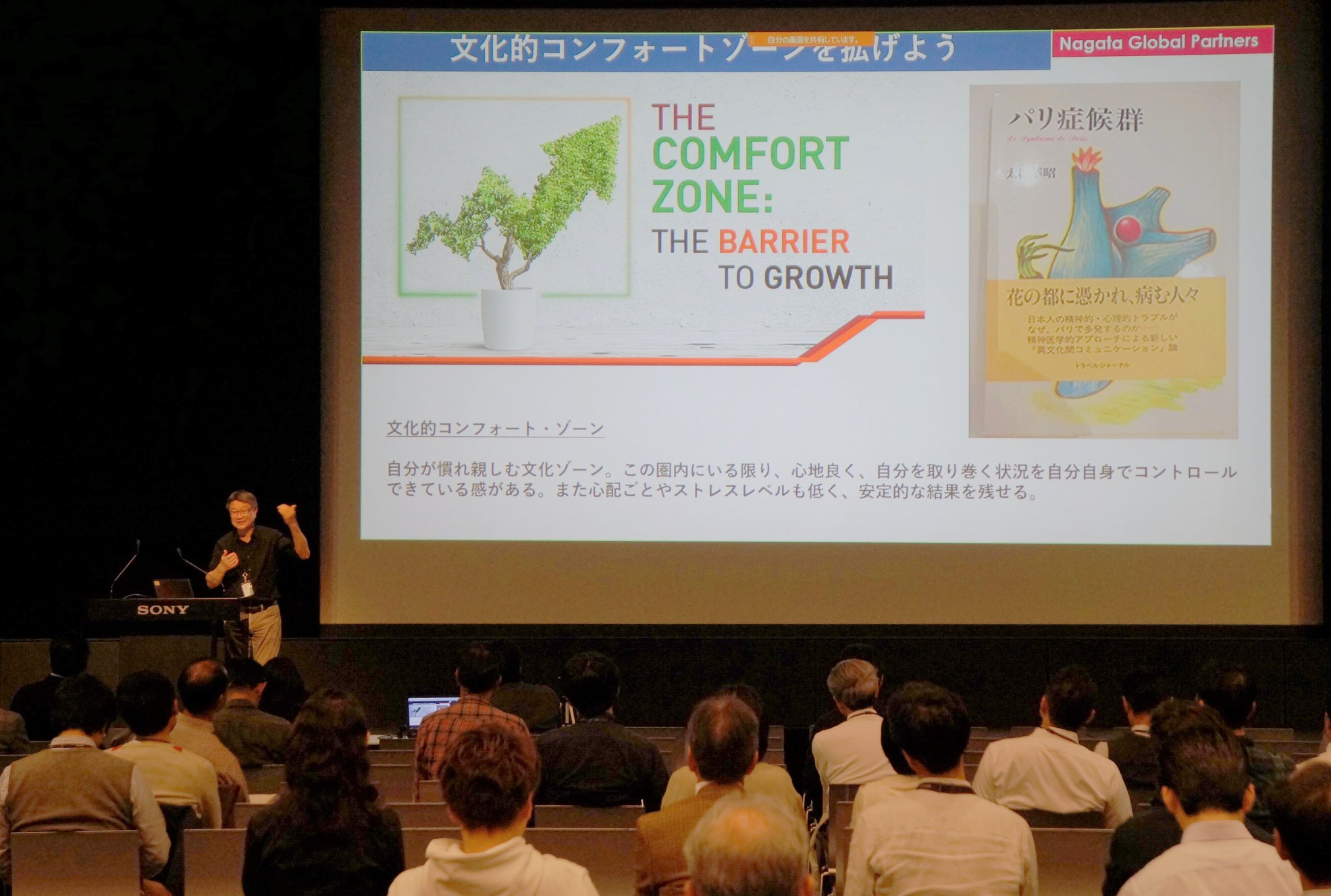 Wellbeing Symposium for Sony Group, Tokyoー( ソニー本社)