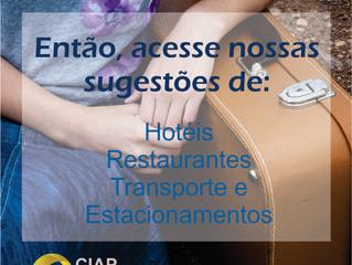 Hotéis, restaurantes e translado: confira nossos convênios