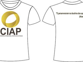 Camisetas da CIAP já estão à venda
