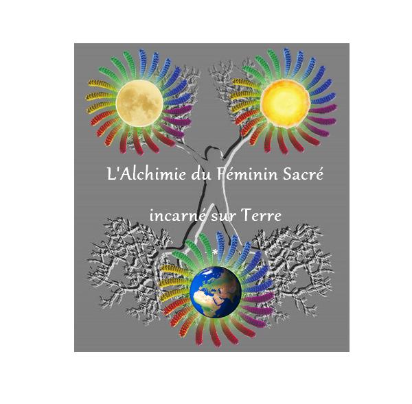 cercles sacrés à partir logo guérir de tes blessures par Chantal Femme-médecine - l'alchimie du féminin sacré incarné sur terre