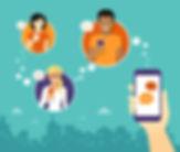 WhatsApp-reseau social- messenger- 123RF