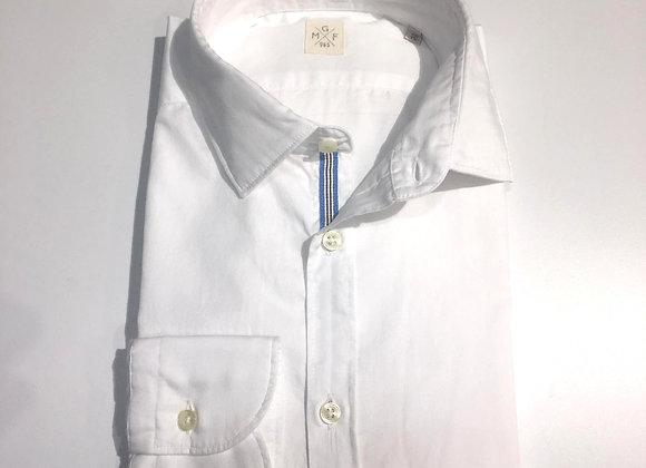 Camicia slim fit bordino a contrasto MGF