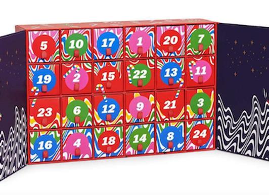 Calendario dell'avvento Happy Socks