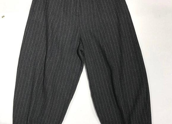 Pantaloni donna over gessati