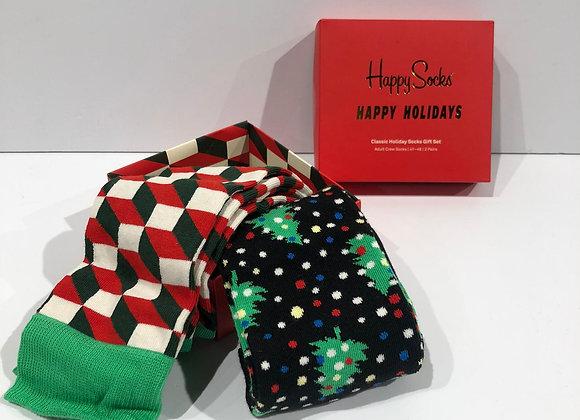 Cofanetto bipack Happy Holidays Happy Socks