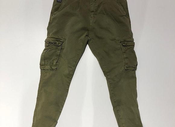 Pantaloni uomo cargo 5 tasche verdone  BL.11