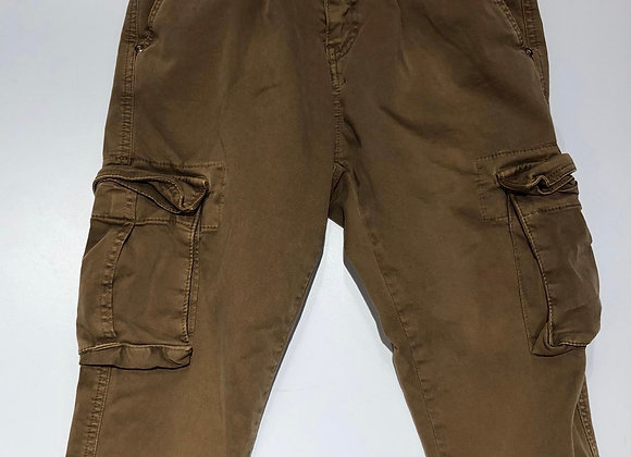 Pantaloni uomo cargo 5 tasche cammello  BL.11
