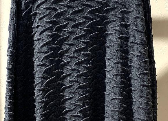 Maxi maglia grigio antracite Opificio Neirami