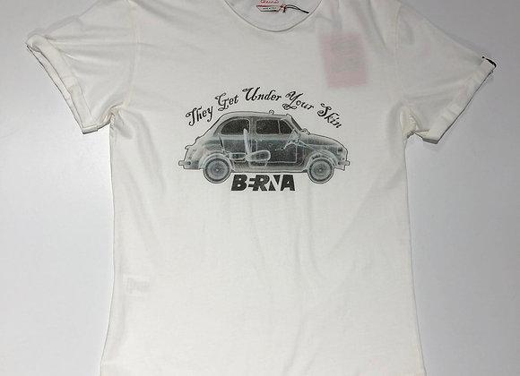 T-shirt bianca stampa macchina 500 Berna
