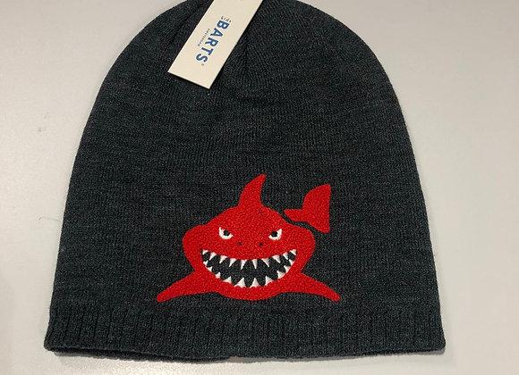 Cappellino cuffia  bimbo shark grigio Barts