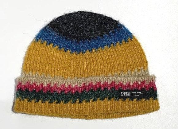 Cappellino lana righe colorate Scotch & Soda