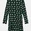 Thumbnail: Abitino manica lunga verde stampa giaguari  Compañia Fantastica